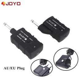 Wholesale JOYO JW Guitar Bass Wireless Rechargeable Ghz Wireless Audio Transmitter Receiver Digital PRO AU EU US Plug I357