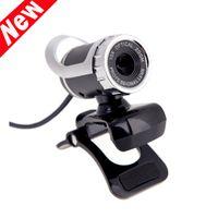 Wholesale USB Webcame Megapixel HD Camera Degree with MIC Clip on Webcame for Desktop Computer Laptop New Arrivel C1947
