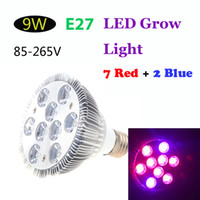 Wholesale E27 W LED Plant Grow Light Bulb Red Blue Energy Saving for Indoor Flower Plants Growth V Hydroponic Lamp H11957