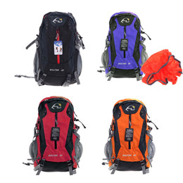 Wholesale Wind Tour L Outdoor Sport Camping Hiking Backpack Mountain Climbing Knapsack Rain Cover Travel Bag Blue Black Orange Red H11734