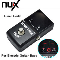 bass tuner pedal - New Arrivel Tuner Pedal for Electric Guitar Bass Two Tuning Modes Metal Housing True Bypass NUX I404