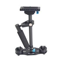 Wholesale Lightweight S T M CM Carbon Fiber Steadicam Steadycam Stabilizer for Camcorder Camera Video DV DSLR Max Load to kg D1439