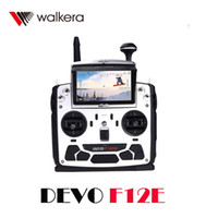 Wholesale New Walkera DEVO F12E CH FPV RC Transmitter Built in G CH Radio Control Mode w with in LCD Screen GHz Receiver RM1530