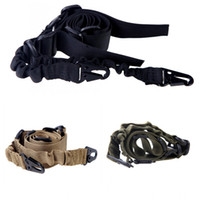 bungee cord - Adjustable Dual Point Mission Bungee Hunting Belt Elastic Tactical Military Sling Strap for Gun Army Green Camel Black H11731