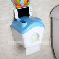 Wholesale 2014 New Multifunction Waterproof Roll Holder Toilet Paper Holder Tissue Box Volume