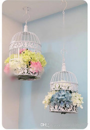 Wholesale 2014 New Flower Decoration Bird cage Iron Decorative Birdcage High Quality