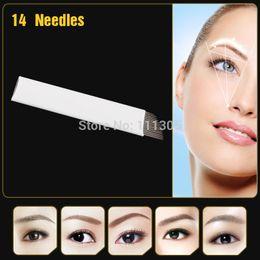Wholesale JM611D X1 High Quality Permanent Makeup Blade Manual Eyebrow Tattoo Blades Needles