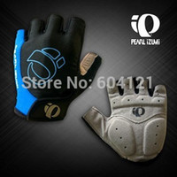 Wholesale 2014 Bicycle half finger Cycling Gloves mountain bike riding Non slip gloves