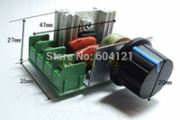 Wholesale 5pcs high power PWM AC Motor Speed Controller with Knob V W Pressure light speed temperature controller