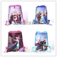 Wholesale Top Seller2014 new frozen drawstring bags frozen Anna Elsa sofia the first backpacks kids handbags children s school bags all design mi