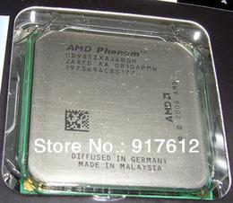Wholesale AMD K10 CPU AMD Phenom X4 Black Edition GHz Socket AM2 W Quad Core Desktop Processor HD985ZXAJ4BGH OEM