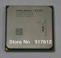 Wholesale K8 CPU AMD Athlon X2 GHz pin Socket AM2 W Dual Core Processor ADO5000IAA5DO OEM