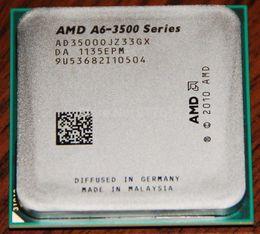 Бесплатная доставка AMD Triple- ядерный процессор A6-3500 2.1GHz гнездо FM1 65W APU (CPU + GPU) с DirectX 11 графический AMD Radeon HD 6530D A6 3500 CPU