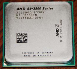 Livraison gratuite AMD Triple-Core A6-3500 2.1 GHz Socket FM1 65W APU(CPU+GPU) avec DirectX 11 et Graphique AMD Radeon HD 6530D A6 3500 CPU