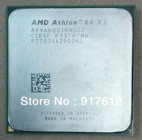 amd desktops - K8 CPU AMD Athlon X2 GHz Socket AM2 pin W Dual Core Processor ADX6000IAA6CZ