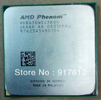 Wholesale AMD K10 CPU AMD Phenom X3 GHz Socket AM2 pin W Triple Core Desktop computer Processor HD8650WCJ3BGH