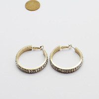 Wholesale European and American Minimalist Atmosphere Exaggerated Earrings Earrings Jewelry