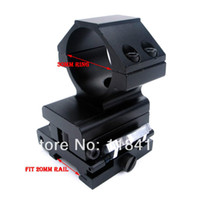 Wholesale Hunting Tactical mm Ring FTS Rapid Flip To Side mm Rail Mount For Aimpoint EOTech Riflescope