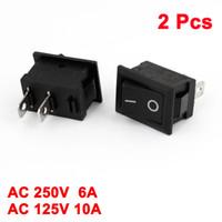 Wholesale 2 Auto Car AC A V A V Pin Position ON OFF Rocker Switch KCD1