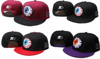 Wholesale Mishka big eyes series baseball cap hat snapback adjustable hiphop cap bboy
