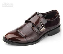 2017 hombres zapatos nuevos estilos elegantes del estilo británico del novio, zapatos, zapatos de boda zapatos de hombre zapatos de cuero NUEVOS zapatos de baile novio hombres zapatos nuevos estilos Rebaja