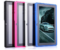 Wholesale DHL FREE gift cheapest inch actions A23 Q88 Dual core Capacitive Android Dual Camera HDMI G Tablet PC HOT10PCS