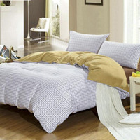Wholesale Splicing Cotton Duvet Covers Set Full Size Home Textile Twill Printed Adult Bed In A Bag LCCJO09