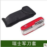 Wholesale Swiss Army Knife sets MM mm Swiss champion special nylon sleeve manufacturers kaihuang