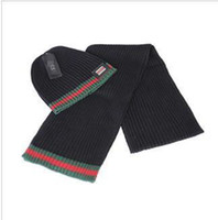 Wholesale 2014 Fashion Scarf Hats Scarf Sets of High quality Set of Men s and Women sets