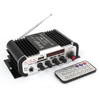 Wholesale DC V W USB SD FM MP3 Car Auto Stereo Audio Amplifier Black