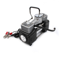 air compressor - Portable Pump Car Auto PSI V Electric Air Compressor w LED Light