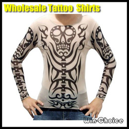 Wholesale Tattoo art t Shirts for Women Men Top Quality Tattoo Top
