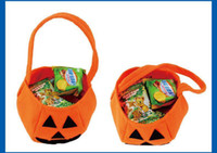 halloween bag - Halloween Props Pumpkin bag Clothing Accessories Barrels Pumpkin Bag Handbag Halloween Gift for kids children Party supplies Candy bag Dj23
