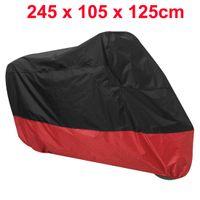 bike cover - Waterproof Outdoor Motorcycle Motorbike Cruiser Bike Scooter Cover Black Red