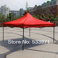 gazebo steel gazebo - Outdoor Steel Square Tube meters Folding Tents Advertising Exhibition Tents Canopy Gazebo Mobile Garages