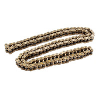 motorcycle drive chain - Motorcycle Repair Parts Bronze Tone Alloy Steel Links Drive Chain Meter