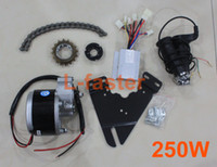 Cheap 24V 250W ELECTRIC BICYCLE MOTOR KIT E-BIKE CONVERSION KIT SIMPLE DIY EBIKE MOTOR HOMEMADE EBIKE COOL CHANGE KIT MODIFIED BIKE