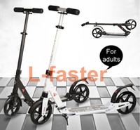 Wholesale Kick Scooter with Dual Suspension for Adults Teens perfect for Urban City Adult Scooter Push Folding Kickscooter Inch Wheels