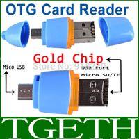 apple microsd - 1Pcs USB OTG Connection Kit MicroB MicroSD Card Reader for Cellphone PC Smartphone Laptop Apple GMB Card DropShipping