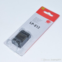 Wholesale 5 pieces LP E12 mAh camera battery for Canon EVIL EOSM EOS D Rebel SL1 PM113