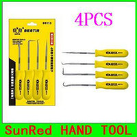 auto mechanical repairs - SunRed BESTIR taiwan made high quality hot sale yellow stainless steel Oil Seal Screwdriver Set auto tools NO