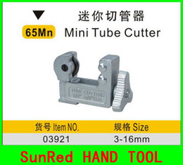 Wholesale SunRed BESTIR taiwan brand Mn steel mini tube cutter for mm thin duct plastic copper pipe NO freeshipping