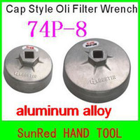 Wholesale SunRed BESTIR aluminum alloy P cap style oil filter wrenches NO AND RETAIL