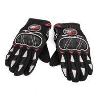 Wholesale Mens Black Motorcycle Racing Bike Sport Cycling Motorcycle Full Finger Gloves L