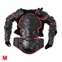 Wholesale Men s Motorbike Armor Cycling Skating Full Protective Gear Clothing Black Red M