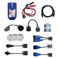 auto diagnose tools - Professional Auto scan Tool NEXIQ USB Link Software Diesel Truck Diagnose Interface Software DHL shipping