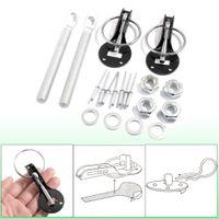 Wholesale Universal Aluminum Black Clasp Hood Pin Lock Kit for Auto Car