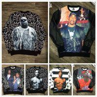 Cheap 1991 Inc. Memorial Sweatshirts Hba Diamond Tupac Fuck Men Leather Sleeve Hoodie Sweatshirt 21 Style