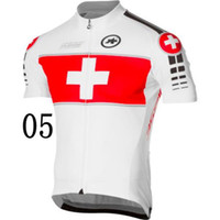 Wholesale Assos Cycling T shirt High Quality Stylish Short Sleeve Bike Tops Anti Wrinkle Durable Mans Cycling Jersey Size from S to XL