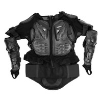Wholesale Men s Motorcycle Armor Cycling Skating Full Protective Gear Clothing Black M